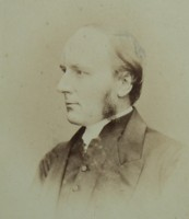 Photographic portrait of Canon Rev Francis James Holland 1828-1907 Click for larger image