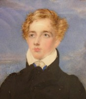 Portrait Miniature of Graham Francis Moore who later took on the name Graham Michel Esmeade 1806-1883 Click for larger image